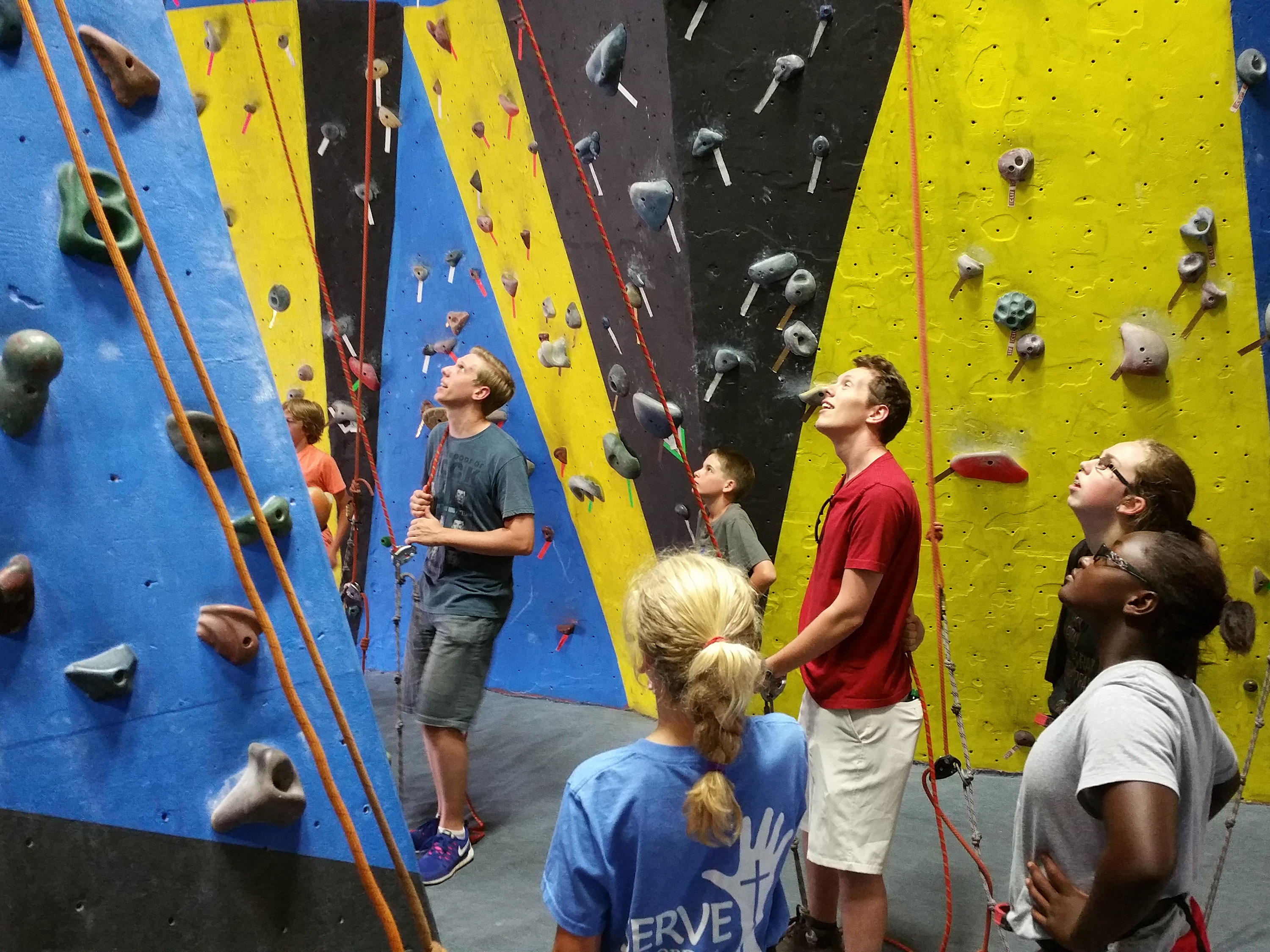 Rock City Rock Climbing Event