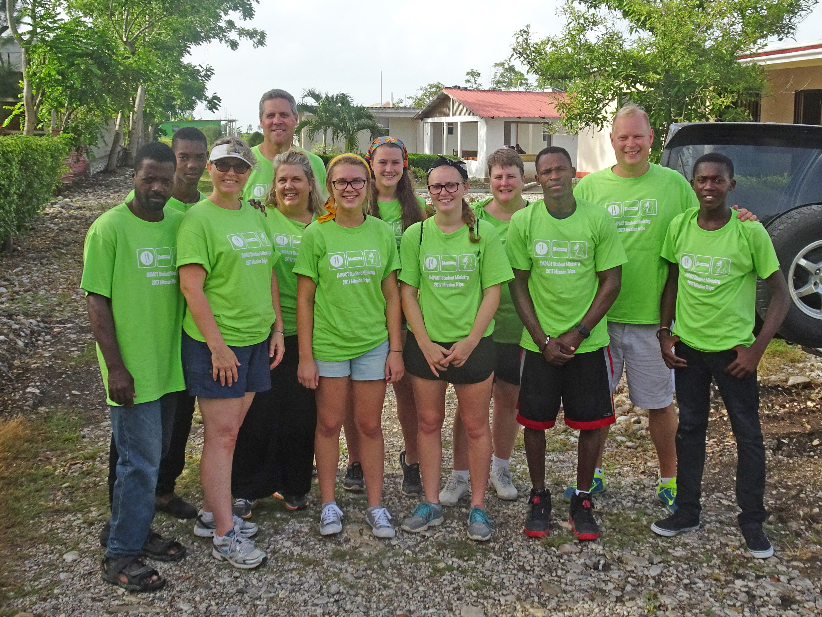 2017 Haiti Team Group Photo