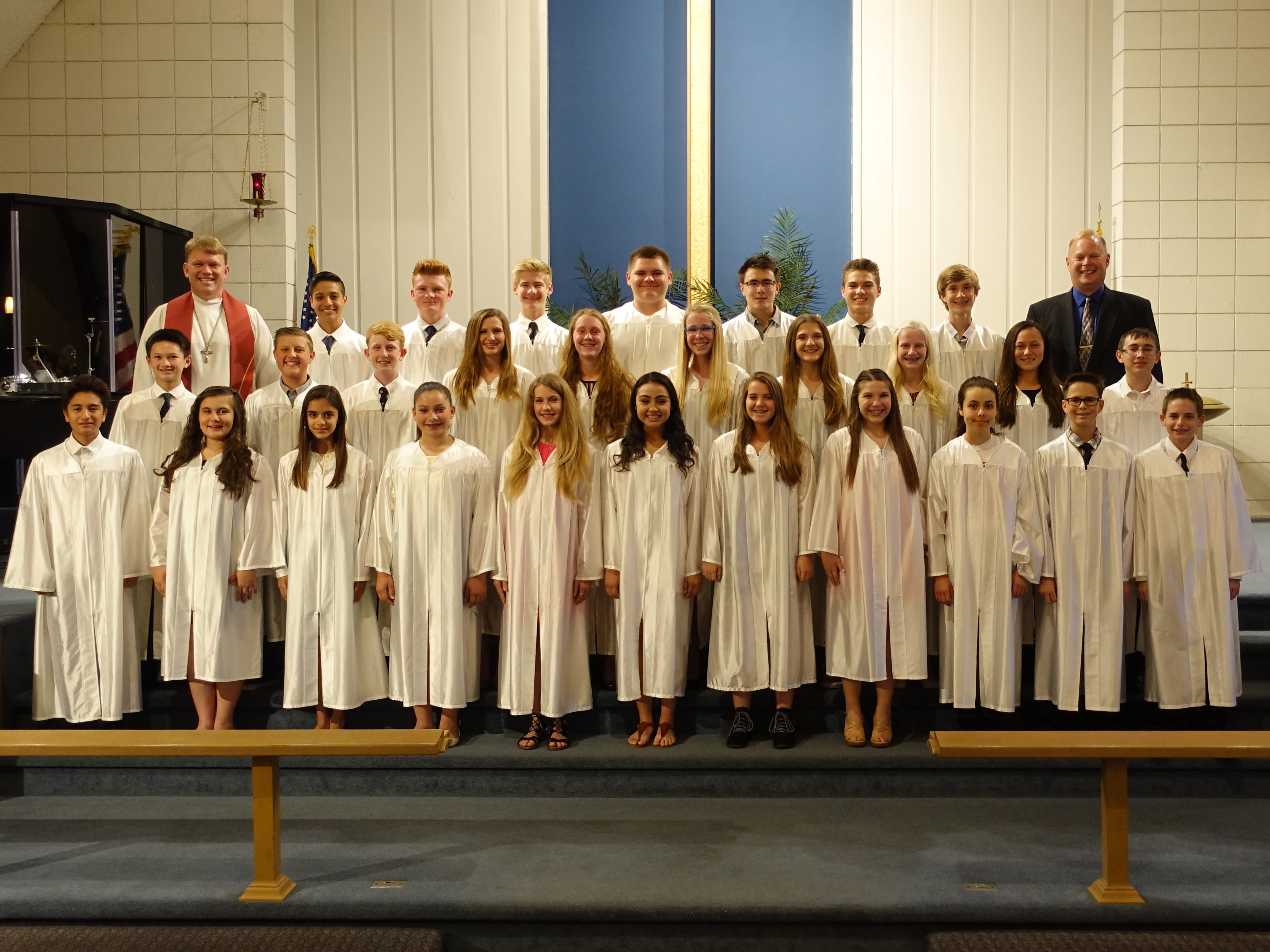 2016 Confirmation Group Photo