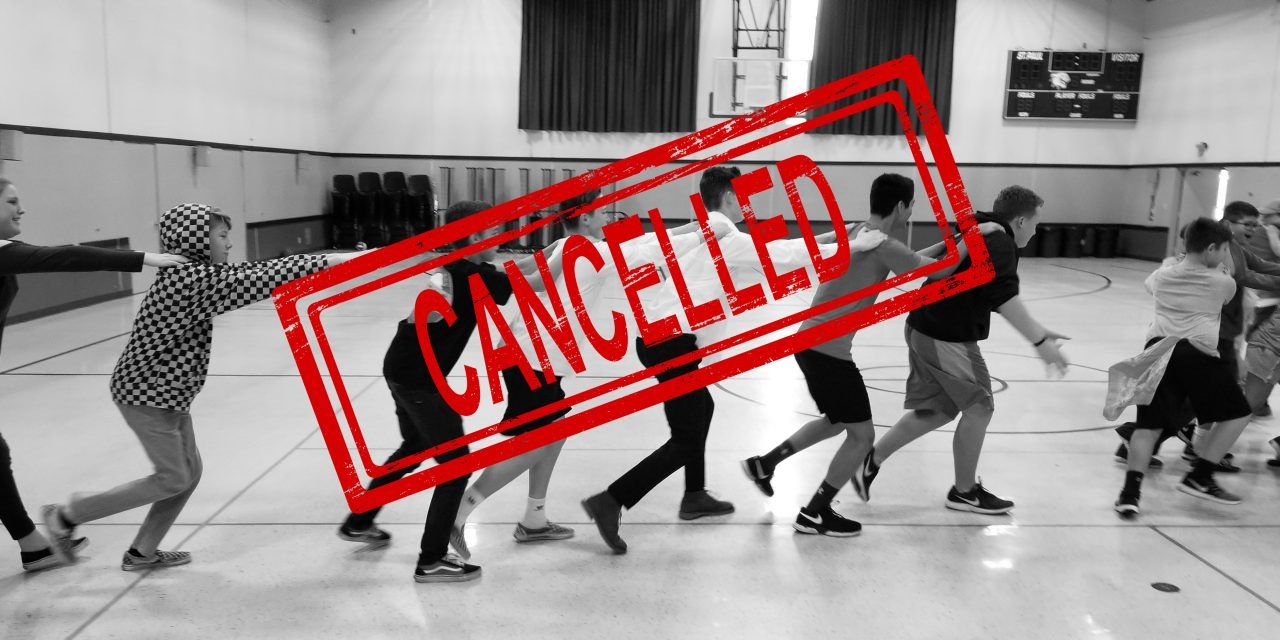 All March Events Have Been Cancelled